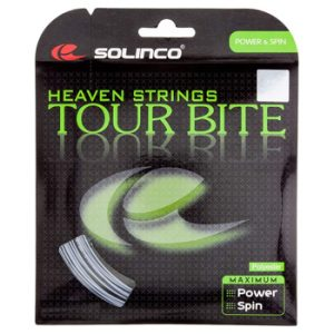 Solinco-Tour Bite Tennis String Silver