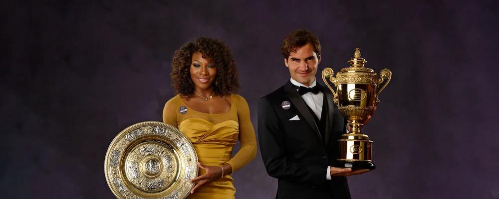 Serena Williams vs Roger Federer