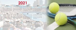 when do tennis schedules come out