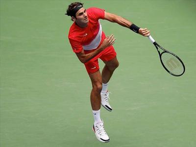 tennis Kick Serve