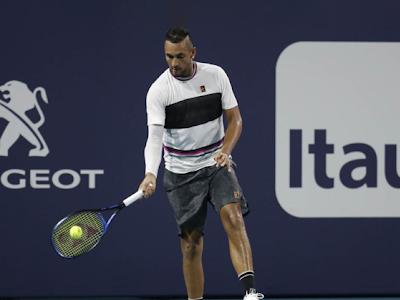 tennis underhand serve