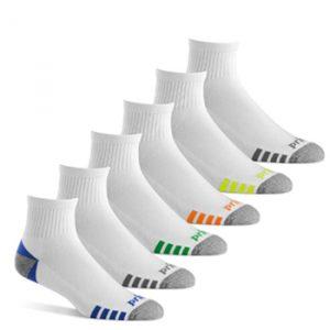 Prince Men's Athletic Quarter Socks