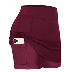 BLEVONH Women Tennis Skirts