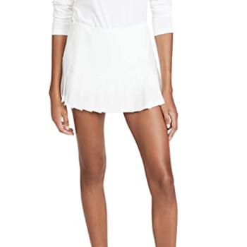 Tory Sport Women's Pleated Hem Tennis Skirt