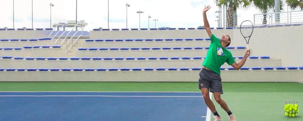 How To Hit a Slice Serve