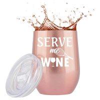 Serve Me Wine Tumbler