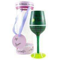 Top Shelf Tennis Wine Glass